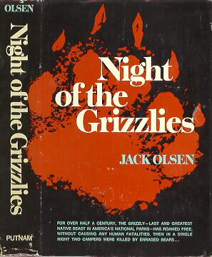 Night of the Grizzlies Hardcover
