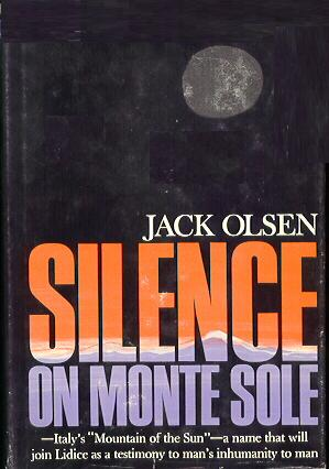 Silence On Monte Sole Hardcover